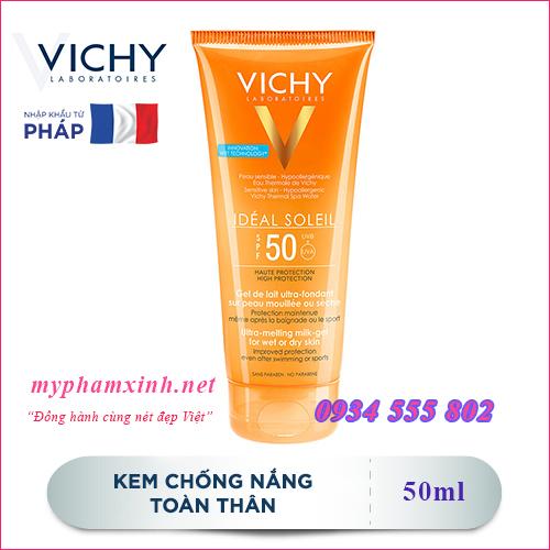 KEM CHỐNG NẮNG VICHY CAPITAL SOLEIL SPF50