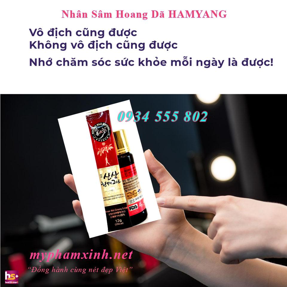 NHÂN SÂM HOANG DÃ HAMYANG