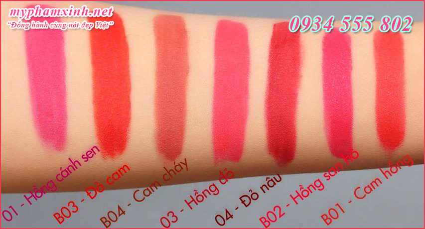 Son Beauskin Extra Makeup Matte Lipstick B - 04 - Smoke Brown