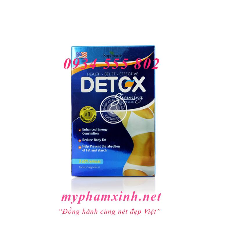 thuốc giảm cân detox mỹ