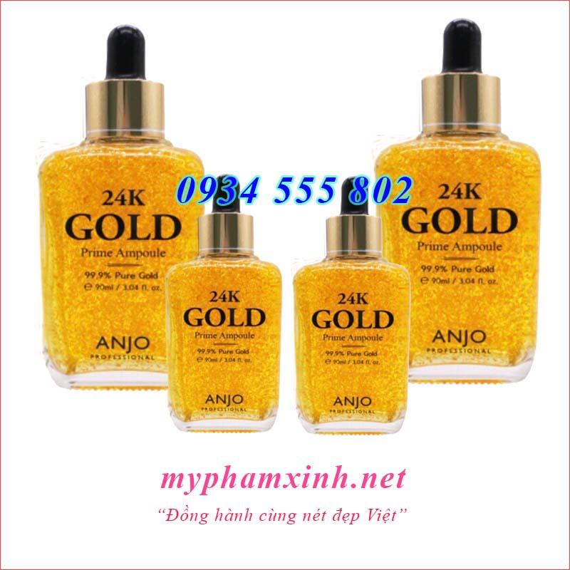 TINH CHẤT ĐẬM CHẤT 24K GOLD PRIME AMPOULE