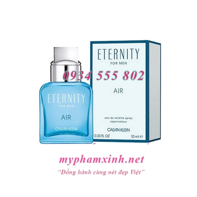 NƯỚC HOA ETERNITY FOR MEN